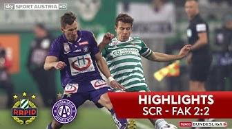 tipico Bundesliga, 17. Runde: SK Rapid Wien - FK Austria Wien 2:2