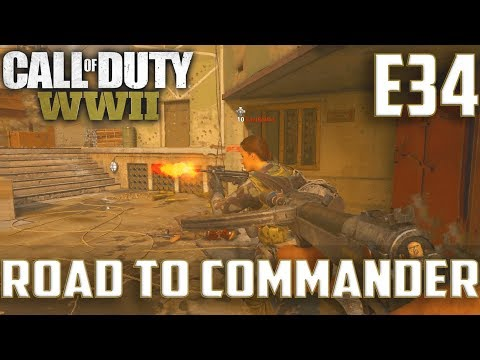 Call Of Duty World War 2(RTC)PS4 Ep.34-KC On Flak Tower,Ardennes Forest(Type100,STG44)