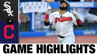Oscar Mercado leads Indians to 5-3 win | White Sox-Indians Game Highlights 7/28/20