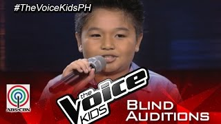 the voice kids philippines 2015 blind audition ang buhay ko by basty