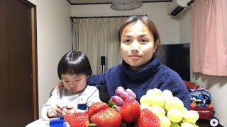 🇯🇵Live Stream Ăn Dâu & Nho kể chuyện Sa mới đi Xăm mình về - Cuộc sống ở Nhật#82
