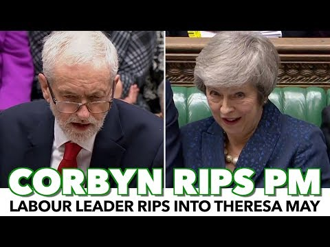 Jeremy Corbyn Rips Theresa May After Brexit Vote Delay