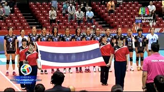 [15-05-2016] Thailand VS Italy : Volleyball Olympic : Women's qualification