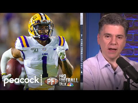 How early WRs could be selected in 2021 NFL Draft | Pro Football Talk | NBC Sports