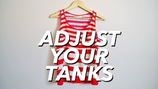 Download How to Adjust Your Tank Tops (reduce cleavage) | WITHWENDY Mp3 and Videos
