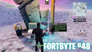Fortnite Battle Royale ? Fortbyte Challenges How to get the Fortbyte #48