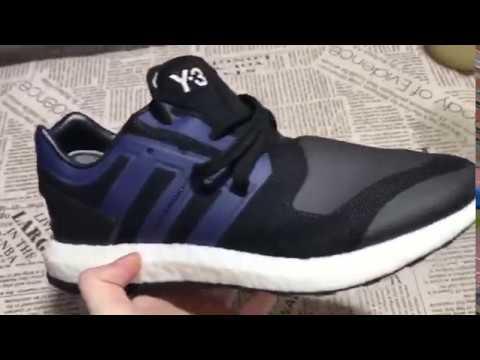 7593732e62d07 Adidas Y-3 Pure Boost Black Blue BY8956 40-46 From www.kicksfire.net ...