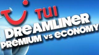 TUI DREAMLINER - PREMIUM Vs ECONOMY - GATWICK TO ORLANDO