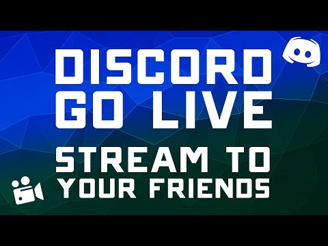 How To Stream To Discord - Stream Directly To Your Discord Server
