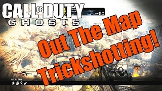 Ghosts Out The Map Trickshotting #1! (5 SHOTS!) - Power Fuzee