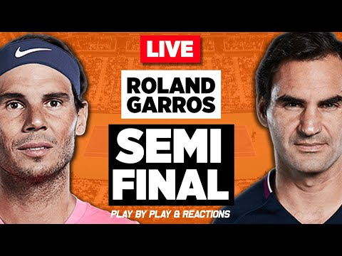 🔴 NADAL Vs FEDERER | Roland Garros 2019 | LIVE Tennis Stream Play-by-Play | Full Match