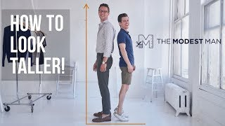 Tips on How to Look Taller with The Modest Man Brock McGoff | Interview #1