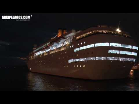 Costa Classica - Departure from the port of Piraeus (Greece)