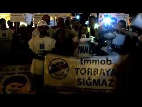 Eskişehir'de TMMOB Torba Yasaya Tepki için Yürüdü (20 Temmuz 2013)