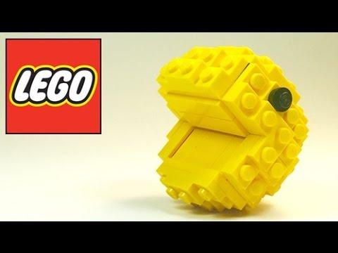 How To Build: LEGO Pac-Man (Lego Bricks) Pac-Man Game