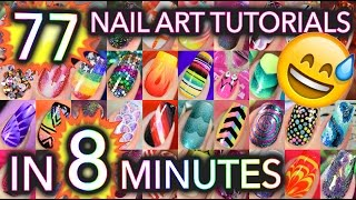 Download 77 Nail Art tutorials in 8 minutes Mp3 and Videos