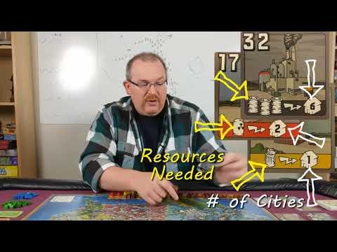 Power Grid - Board Game Tutorial