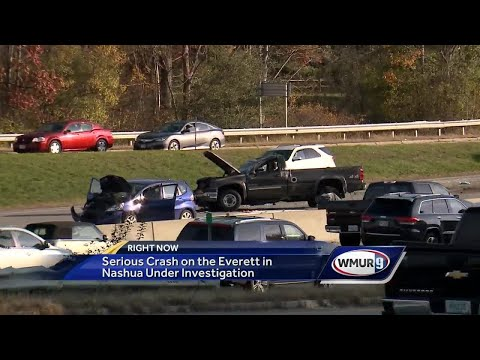 Serious crash on Everett Turnpike in Nashua under investigation