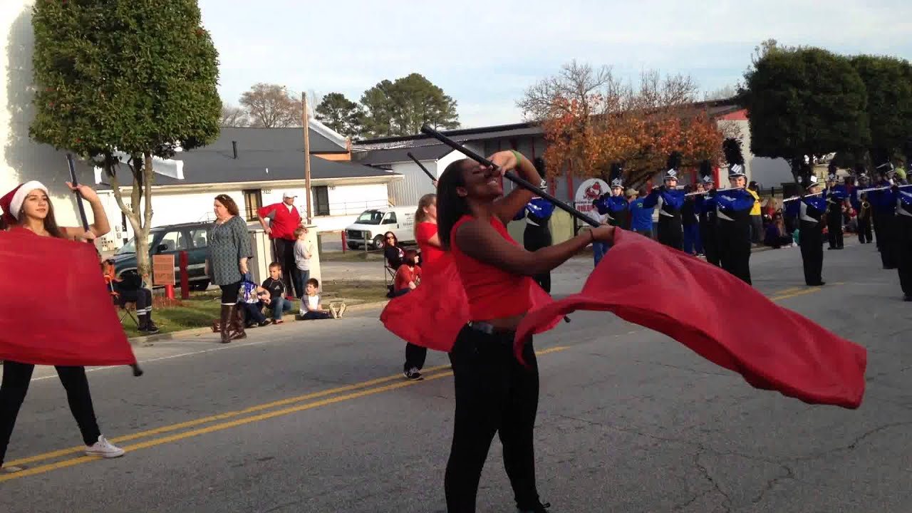 clayton high school marching comets 2015 clayton christmas parade - Clayton Christmas Parade