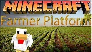Minecraft - Farming Platform - #2 - Арена!