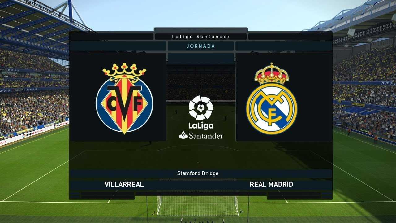 Villarreal Vs Real Madrid La Liga January Gameplay YouTube