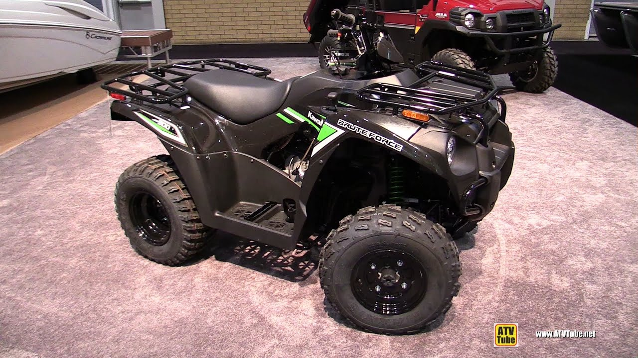 2016 kawasaki brute force 300 recreational atv - walkaround - 2016