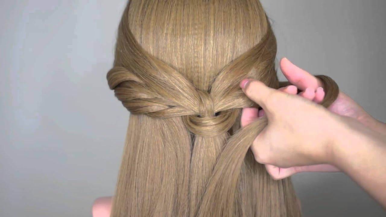 simple but elegant hairstyle tutorial - youtube