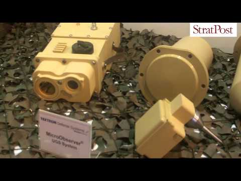 StratPost | Textron's Micro Observer ground sensor & Spider networked munition system