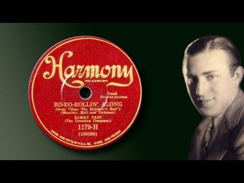 Sammy Fain   RoRoRollin Along 1930