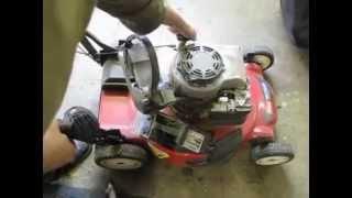 Lawn Mower Repair: Starter Pull Cord  Replacement, Briggs and Stratton, Toro, Alameda Repair Shop