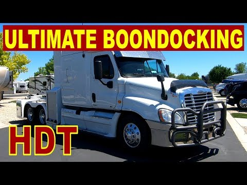 HEAVY DUTY TRUCK/RV WITH SOLAR  //  BOONDOCK RV // Big Rig RV