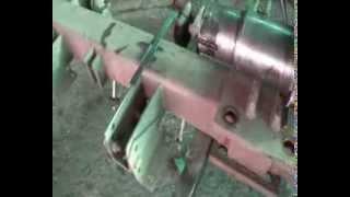 Ломаный конец оси ремонт с помощью вставления штифта