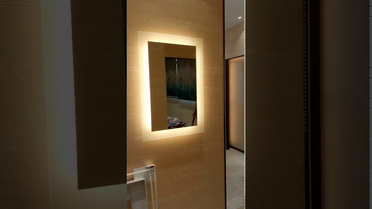 led backlit mirror illuminated lighted mirror bathroom 19095
