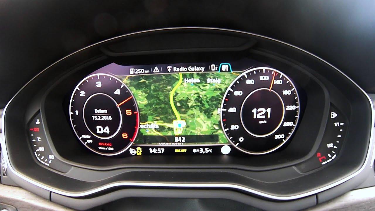 Audi A4 Avant 30tdi 218ps 0 210 Kmh Beschleunigung Acceleration