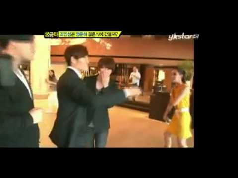 Kim Jong Kook & Lee Kwang Soo & Kim Hee Chul (SJ) at Jung Joon Ha's Wedding