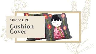 Aster&Anne - Kimono Girl Cushion Cover