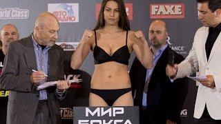 Фируза Шарипова-Зарина Цолоева\очень красивые боксёрши из Казахстана