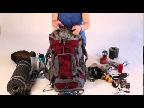 How to Pack a Backpack  Eastern Mountain Sports