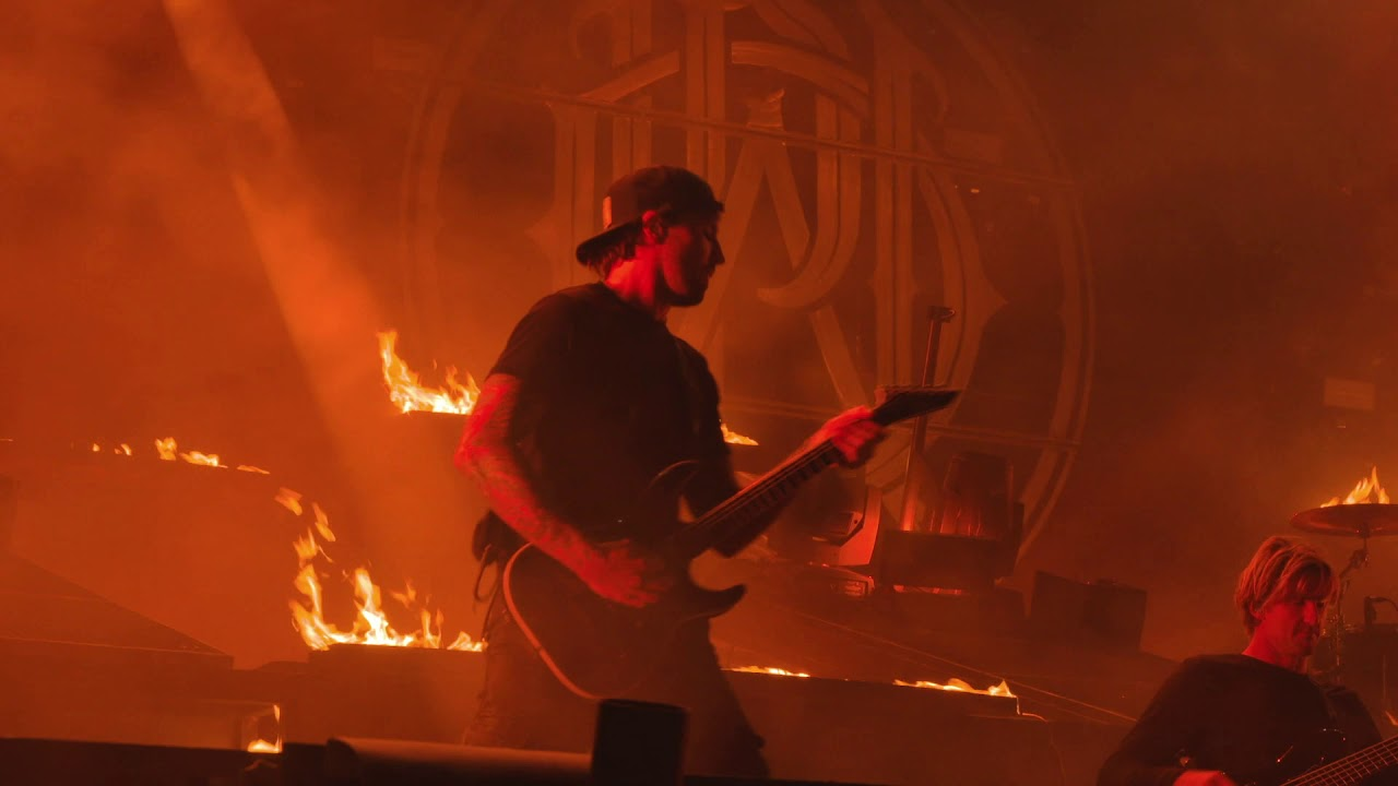 "Watch Pro-Shot Footage Of Parkway Drive Performing ""Crushed"