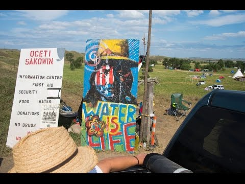 "N Dakota Pipeline ""How would you feel?"""