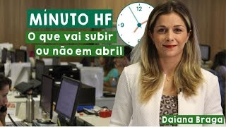 Minuto HF: O preço sobe ou cai em abril?