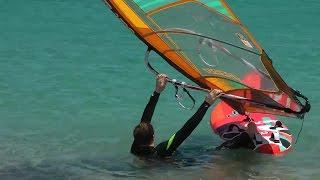 Windsurf-Tutorial: Wasserstart
