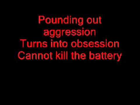 Metallica - Battery [LYRICS+MP3 DOWNLOAD]