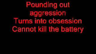 Metallica - Battery [LYRICS+MP3 DOWNLOAD]
