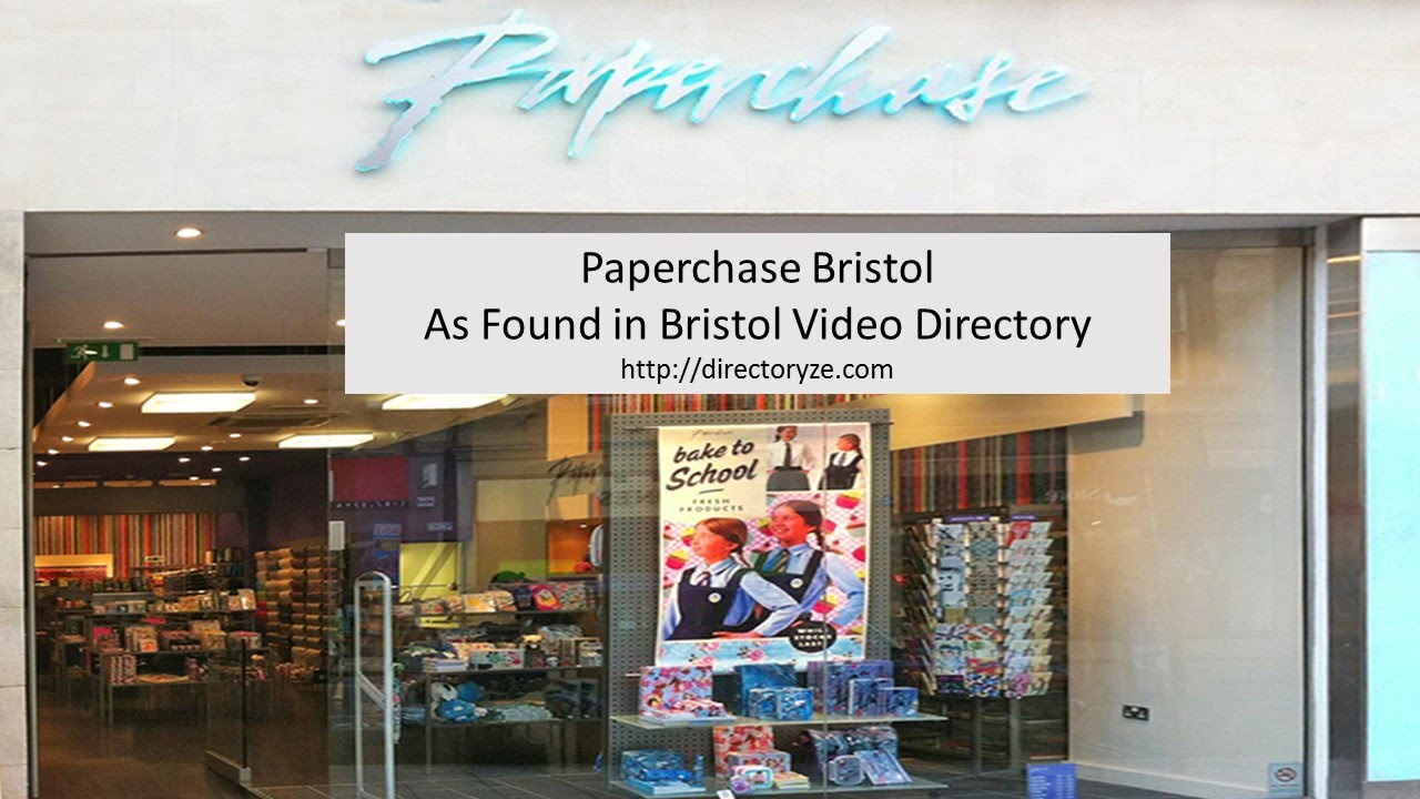 Paperchase Bristol Gift Wrapping Paper, Quality Gifts Cards ...