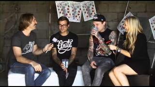 THE AMITY AFFLICTION - Groovin The Moo Interview 2013 BPMTV