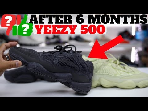 AFTER 6 MONTHS: adidas YEEZY 500 WORTH BUYING?