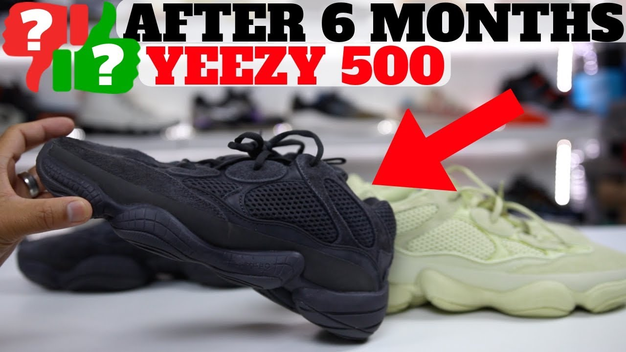 AFTER 6 MONTHS  adidas YEEZY 500 WORTH BUYING  - YouTube bc77212f1