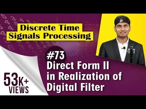 Direct Form II in Realization of Digital...