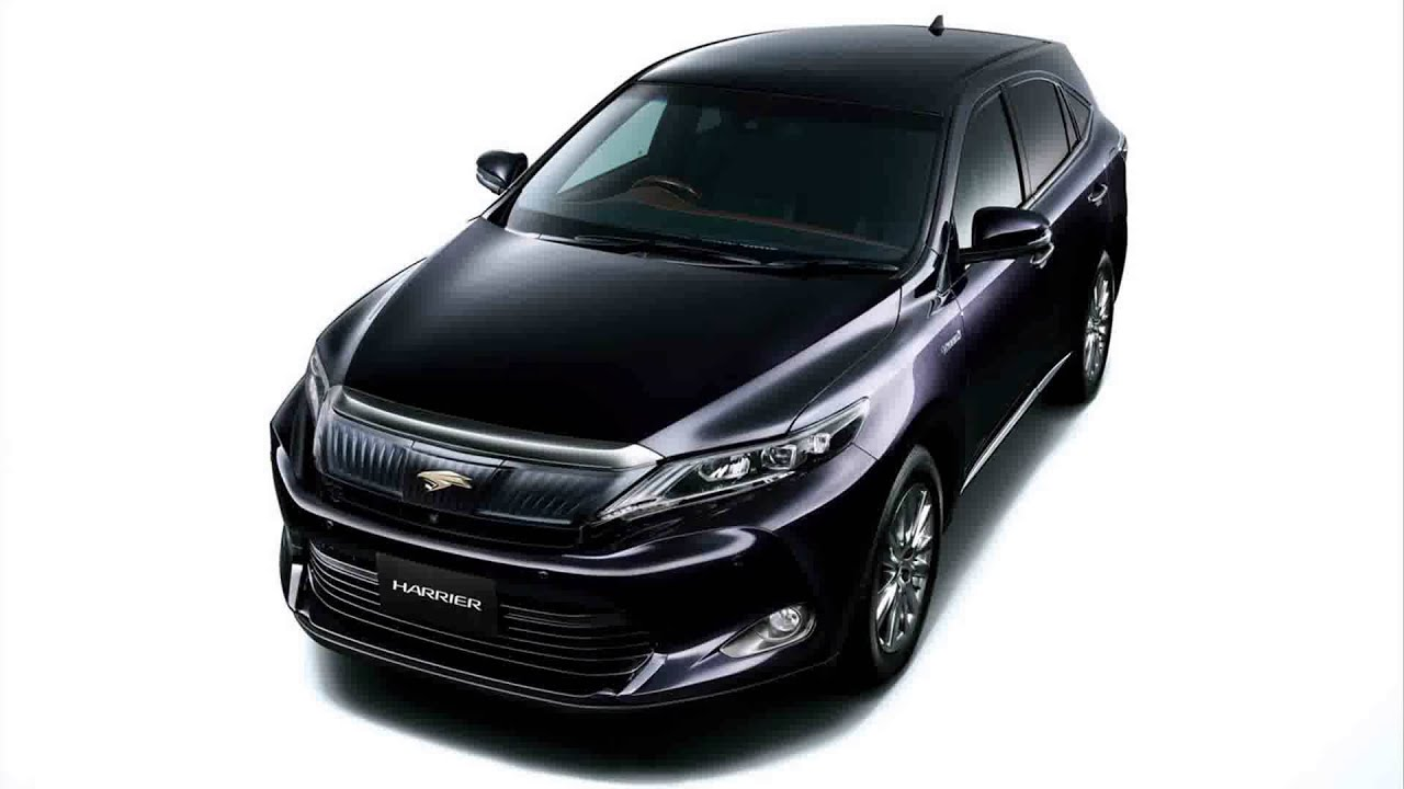 2015 model new toyota harrier - youtube